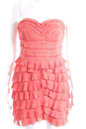 H&M Corsagenkleid lachs extravaganter Stil