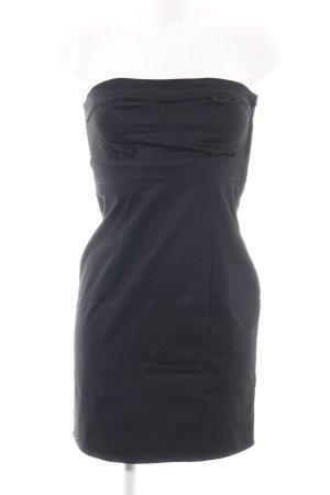 H&M Corsagejurk zwart zakelijke stijl
