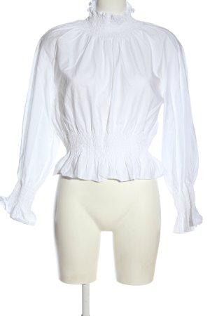 H&M Kreukelblouse wit zakelijke stijl
