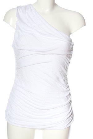H&M Kreukelblouse wit casual uitstraling