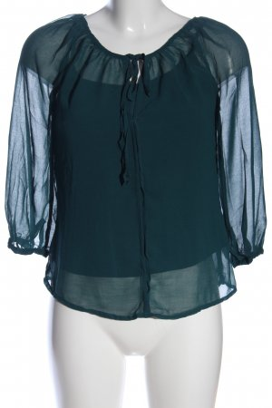 H&M Blusa Crash verde stile professionale
