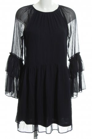 H&M Crash-Bluse schwarz Business-Look