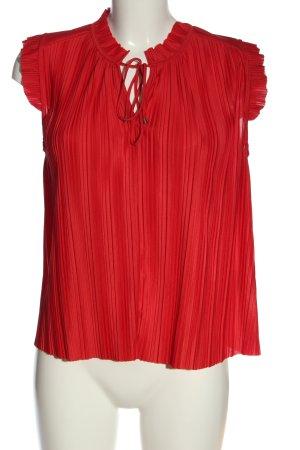 H&M Kreukelblouse rood elegant