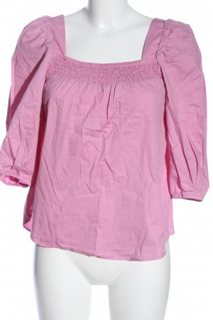 H&M Crash-Bluse pink Casual-Look