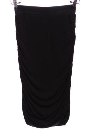 H&M Falda estilo Crash negro look casual