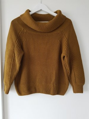 H&M Crochet Sweater ocher