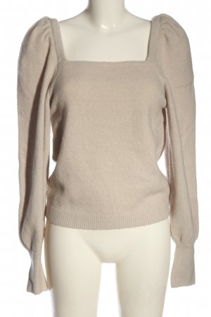 H&M Cropped Pullover wollweiß Casual-Look