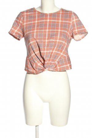 H&M Cropped Shirt Allover-Druck Casual-Look