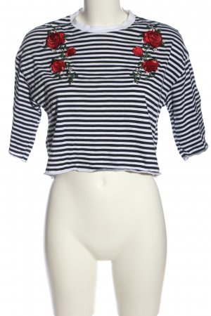 H&M Cropped Shirt allover print casual look