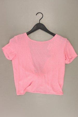 H&M T-shirt court rose clair-rose-rose-rose fluo viscose