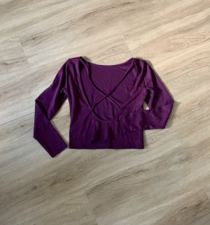 H&M Camisa recortada multicolor