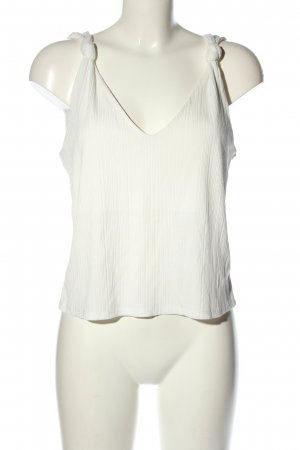 H&M Cropped Top white casual look