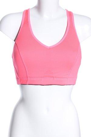 H&M Cropped Top pink sportlicher Stil