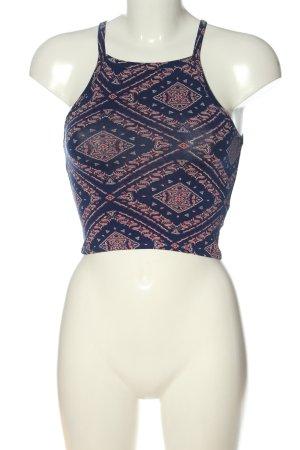 H&M Crop-top imprimé allover style décontracté