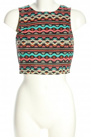 H&M Cropped Top graphic pattern casual look