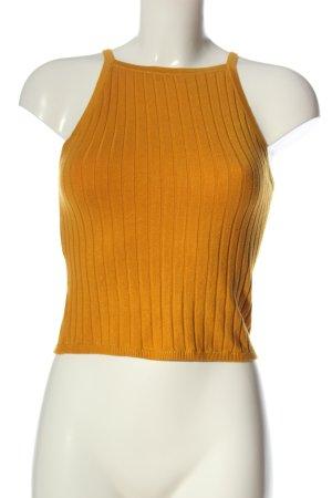 H&M Top recortado naranja claro look casual