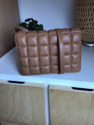 H&M / Crossbody bag / Schultertasche / Kunstleder / beige - caramel