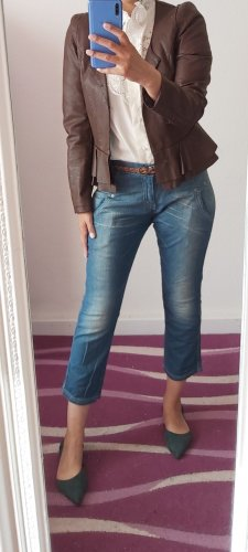 H&M Falda pantalón de pernera ancha azul claro