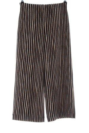 H&M Pantalone culotte motivo a righe stile casual
