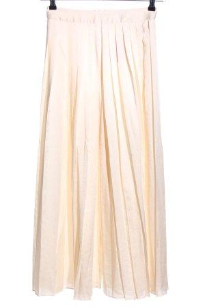 H&M Pantalone culotte crema stile casual
