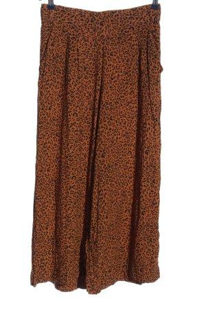 H&M Kuloty brązowy-czarny Wzór w lwa W stylu casual