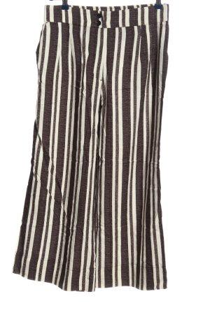 H&M Culottes schwarz-weiß Allover-Druck Casual-Look