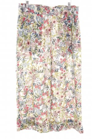 H&M Culottes Blumenmuster Casual-Look