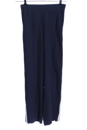 H&M Culottes blau-weiß Casual-Look