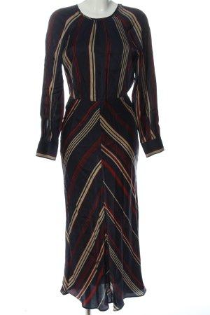 H&M Robe découpée motif rayé style décontracté