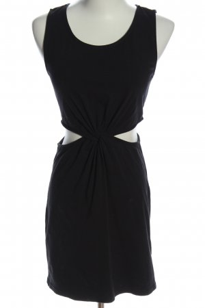 H&M Cut-Out-Kleid schwarz Casual-Look