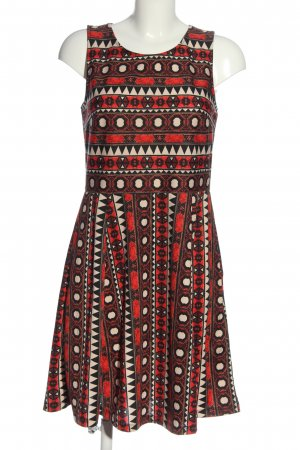 H&M Cut Out Dress allover print casual look