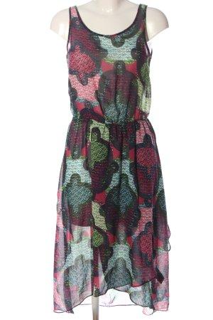 H&M Robe découpée motif abstrait style décontracté