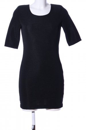 H&M Cut-Out-Kleid schwarz Elegant
