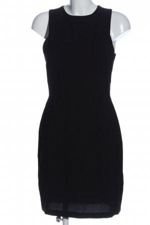 H&M Cut-Out-Kleid schwarz Business-Look