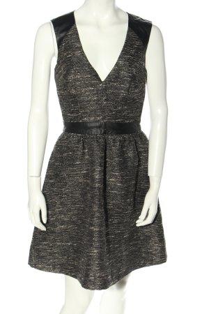 H&M Cut-Out-Kleid hellgrau klassischer Stil