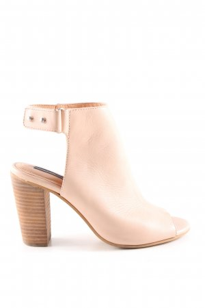 H&M Cut-Out-Stiefeletten creme Casual-Look