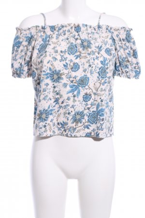 H&M Cut out top volledige print casual uitstraling