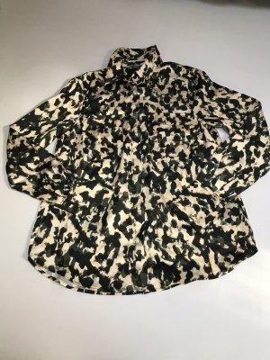 H&M Damen Bluse camouflage neu