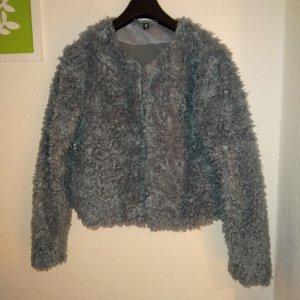 H&M Damen Faux-Fur Jacke