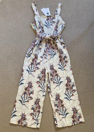 H&M Damen Jumpsuit/Overall Beige Gr. 38 NEU !!