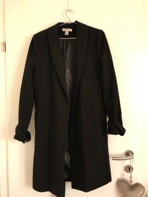 H&M Damen Mantel Trenchcoat neu schwarz 42