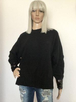H&M Damen Pullover in Schwarz Gr.S/M