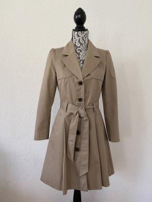 H&M Damen Trenchcoat Beige Gr. 36 TOP !!