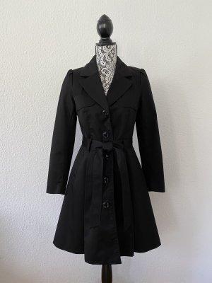 H&M Damen Trenchcoat Schwarz Gr. 36 TOP !!