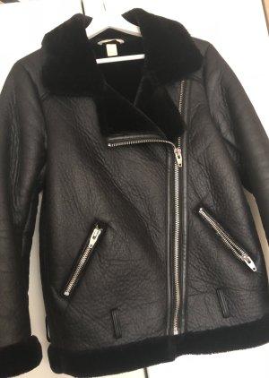 H&M Marynarska kurtka czarny