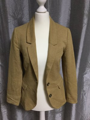 H&M Blazer long brun sable
