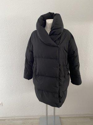 H&M Płaszcz puchowy czarny