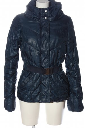 H&M Daunenjacke blau Steppmuster Casual-Look