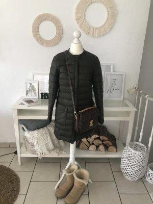 H&M Manteau en duvet kaki-vert foncé