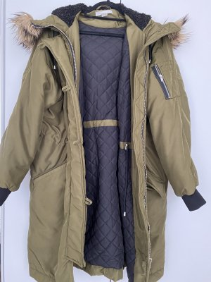 H&M Down Coat khaki